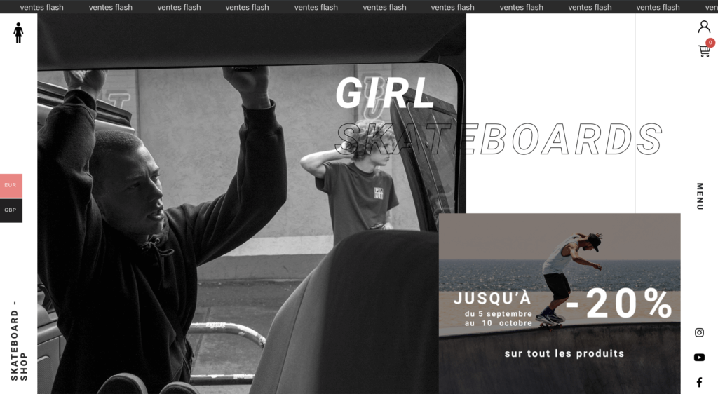 Home page - Girl Skateboard
