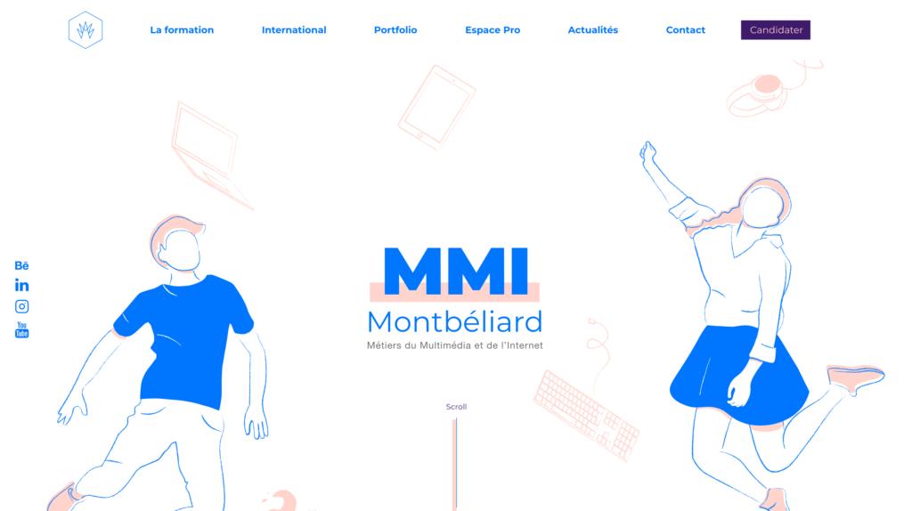 Home page - MMI Montbéliard